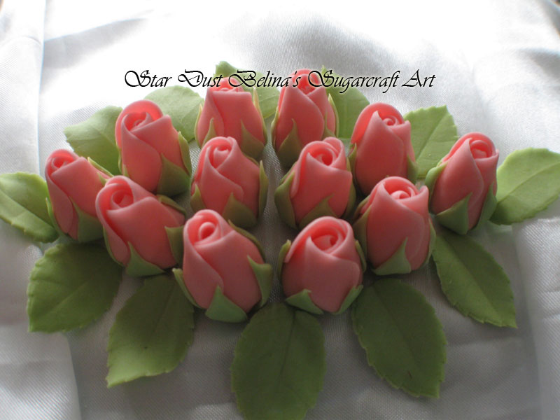 Pink roses buds whit green leaf\'s