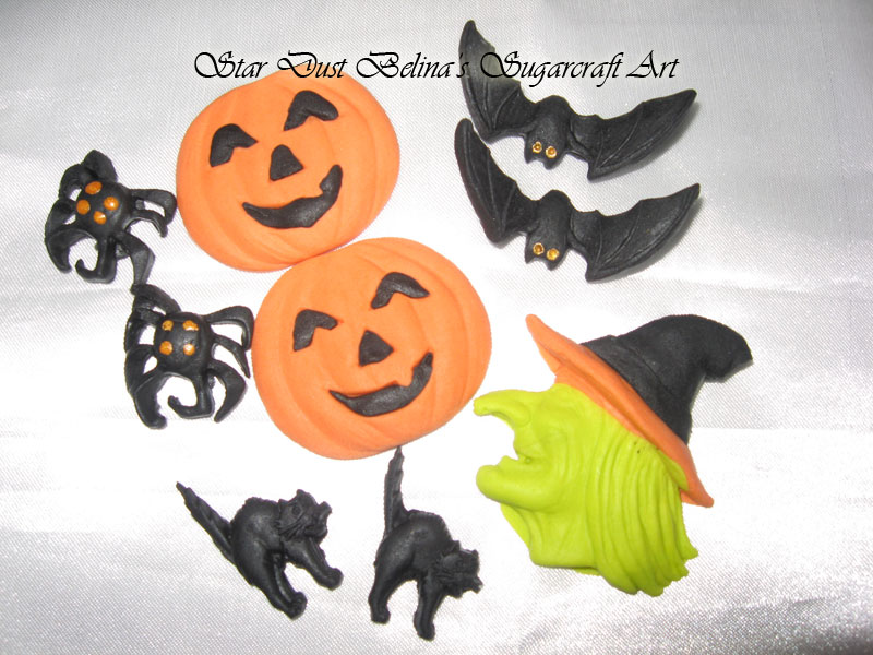 $Helloween sugar decorations