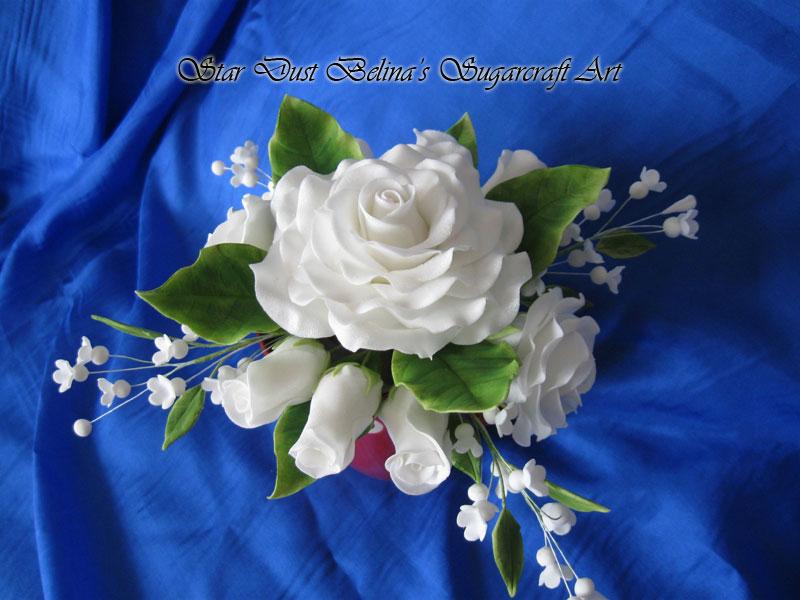 Wedding Cake Flower Sprays