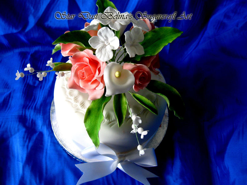 $Flowers mix sugar bouquet